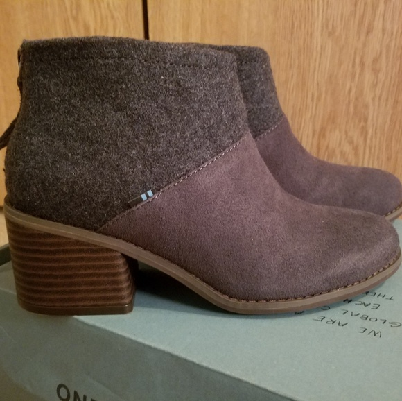 Toms Shoes | Toms Lacy Boots | Poshmark